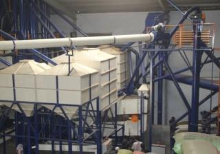 Một góc nhà máy nhìn từ trên cao