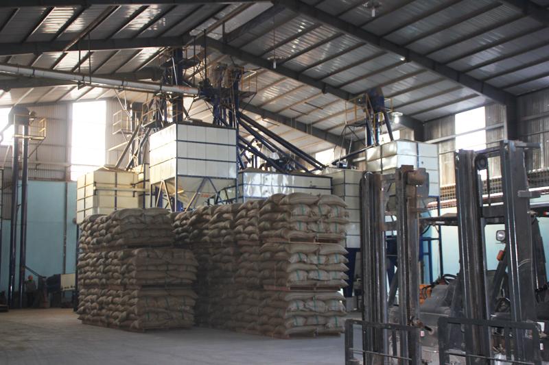 Nhà máy chế biến cà phê xuất khẩu do DNCK-CĐ Viết Hiền thiết kế va thi công